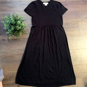 Micheal Kors black knit dress